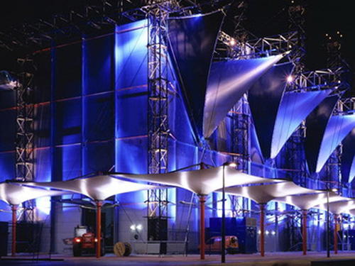 商业街膜结构,商业街长廊膜结构,商业广场膜结构