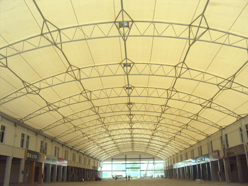 商场门厅膜结构,走廊膜结构