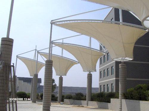 海上膜结构工程,水上膜结构工程,万达广场膜结构
